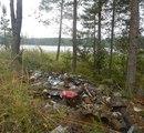 С островов Ладоги экологи вывезли около 180 мешков мусора